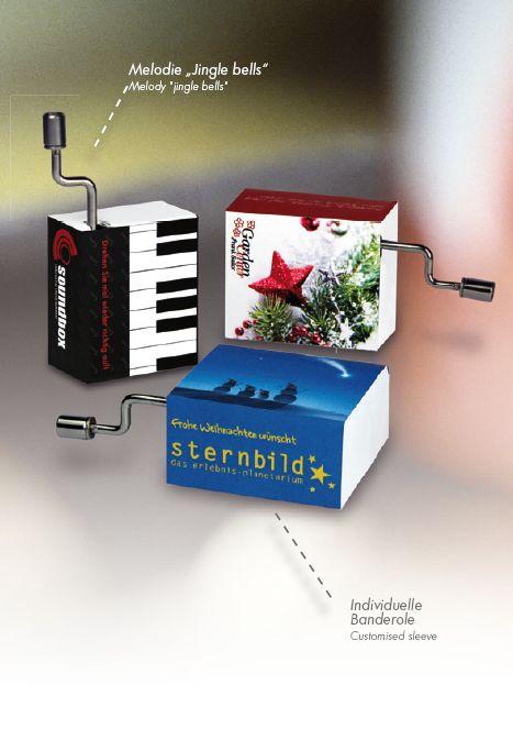 Mini Drehorgel, Weihnachten, Give Away, Werbeartikel, Werbeprodukt, Drehorgel, Musik