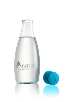Wasserflasche, Wasserbehälter, Trinkflasche, Glaßflasche