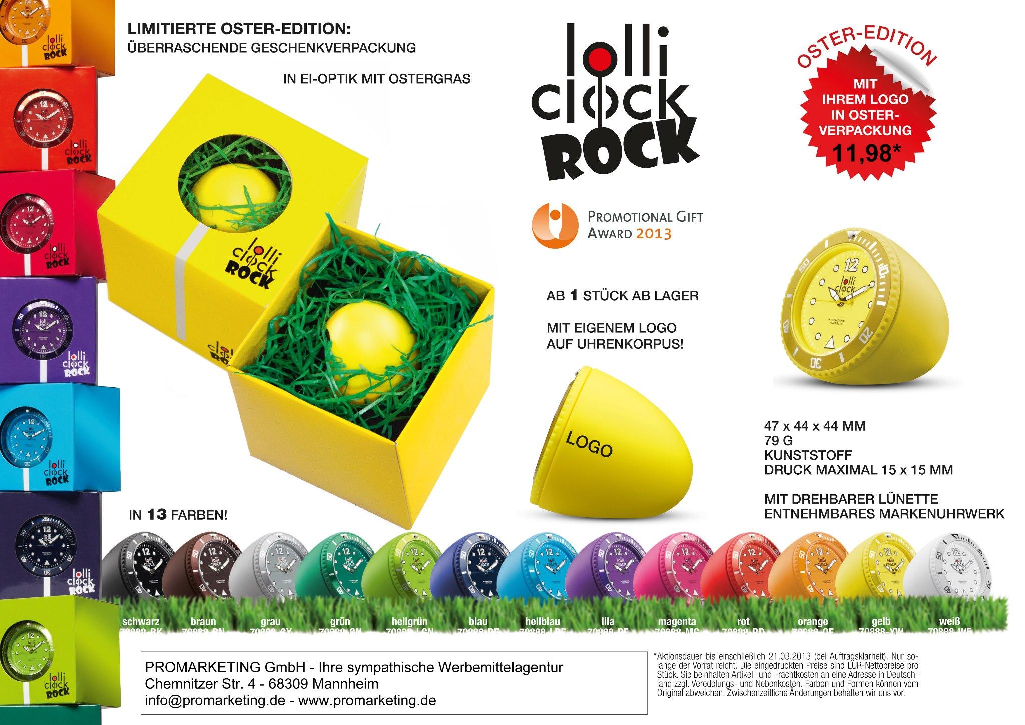 Lolli Clock Rock 2