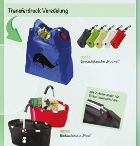 Einkaufstasche als Werbeträger