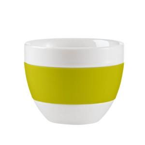 cappuccino tasse grün