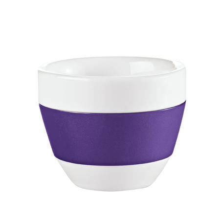 2Stück Maxi Tasse mit Lavendel Dekor Porzellan Becher