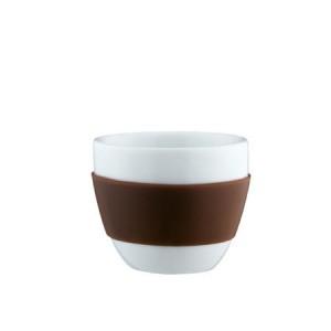 espresso tasse braun