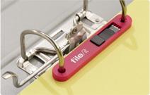 USB-Stick integriert in eine Abheftleiste