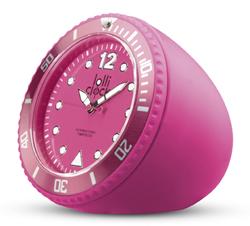 lolli clock roch uhr pink