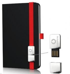 Lanybook mit USB Stick