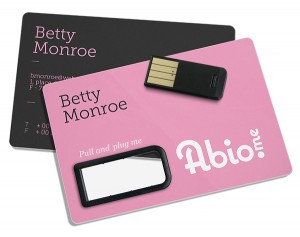 USB-Karte aus Karton