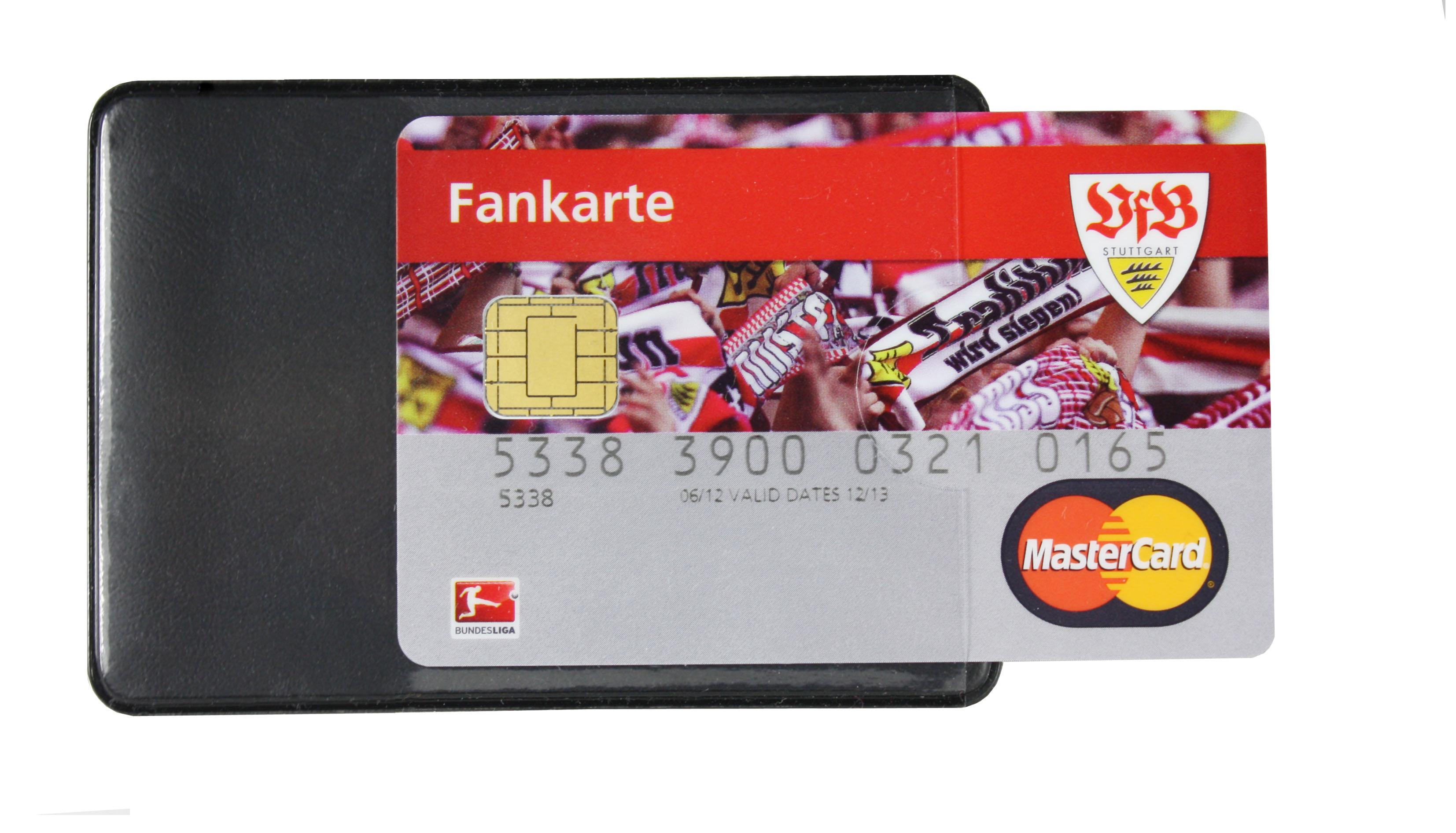 RFID Schuzhülle für Kreditkarte