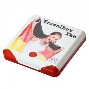 Travelbox mit Fanschminke