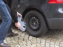 Radkappe-entfernen