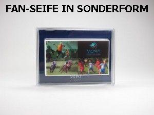 Motiv-Seife, Fan-Seife in Sonderform-300x225