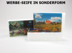 Motiv-Seife trio in Sonderform