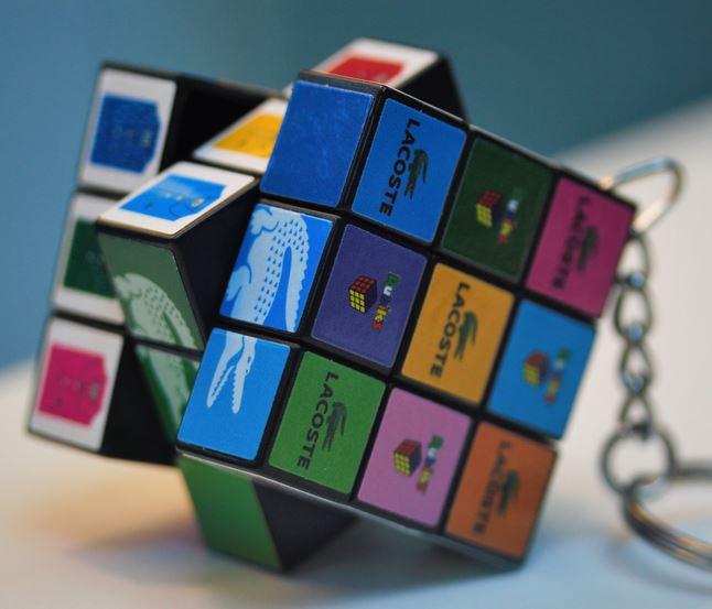 Rubik´s Cube in Miniatur für Ihre Werbung