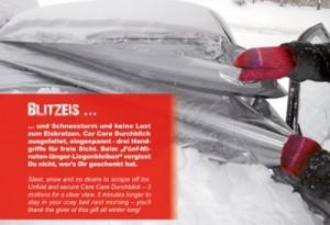 Scheibenabdeckung-Winter-Werbemittel