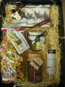 Italien-Reise 2, Präsentkorb, Werbe-Geschenkset, Kontaktgeschenk, Jubiläumspräsent,