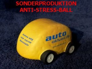 Anti-Stress-Ball, Knetball, Knautschball, Stress-Ball-Promotion