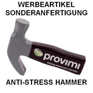 Anti-Stress Hammer als Werbeartikel-Sonderanfertigung
