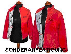 Fleece-Jacke in Sonderanfertigung (innen), Sonderproduktion, Sonderherstellung