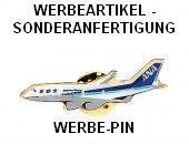 Ansteck-Pin Flugzeug als Werbeartikel-Sonderanfertigung