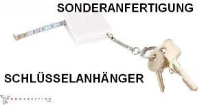 Schlüsselanhänger in Sonderanfertigung mit Maßband, Sonderproduktion, Online-Shop - promarketing.de,  56-0407116-34-c