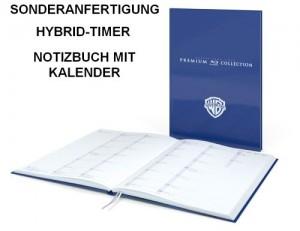Sonderanfertigung Hybrid-Timer, Notizbuch mit Kalender