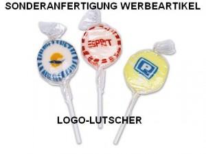Sonderanfertigung Logo-Lutscher, Werbeartikel-Sonderproduktion