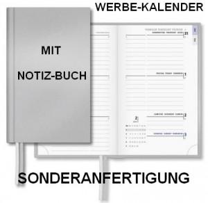 Sonderanfertigung Werbe-Kalender mit Notiz-Buch