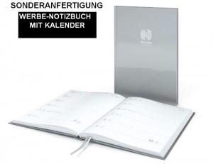 Sonderanfertigung Werbe-Notizbuch mit Kalender, Hybrid-Timer Note Prägung