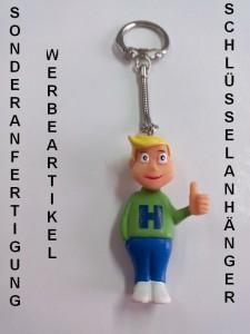 Sonderanfertigung Werbeartikel Schlüsselanhänger Hannes, Sonderproduktion