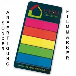 Micro-Tac Filmmarker hoch, Sonderanfertigung Filmmarker mit selbsthaftender Beschichtung