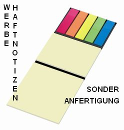 Orga-Sheet schwarz M, Haftnotizen in Sonderanfertigung, Post-it in Sonderproduktion, Klebezettel auf selbsthaftenden Träger mit Micro-Tac Beschichtung