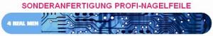 Sonderanfertigung Profi-Nagelfeile 4RealMen Motiv-IT-Platine