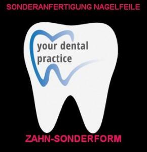 Zahn-Sonderform Nagelfeilen-Sonderanfertigung