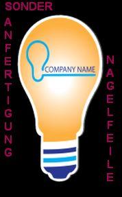 Sonderanfertigung Nagelfeile für Energie-Versorger und Elektriker