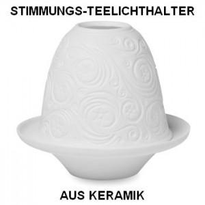 Stimmungs-Teelichthalter CHOLDY als Weihnachts-Präsent, MO8550