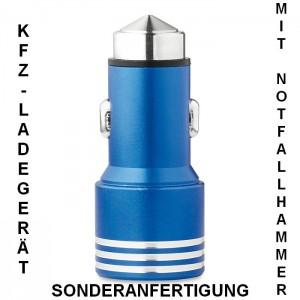 KFZ-Ladegerät mit Notfallhammer in Sonderanfertigung mit 2 USB-Anschlüssen, MO8643_04