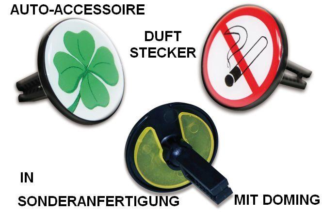 Auto-Accessoire Duftstecker in Sonderanfertigung, Fanartikel