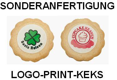 Sonderanfertigung Logo-Print-Keks, Werbemittel-Sonderanfertigung