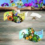 Öko-Artikel, Blumensamenmischung,Mailingartikel, sommerliche Grüße, Samentütchen