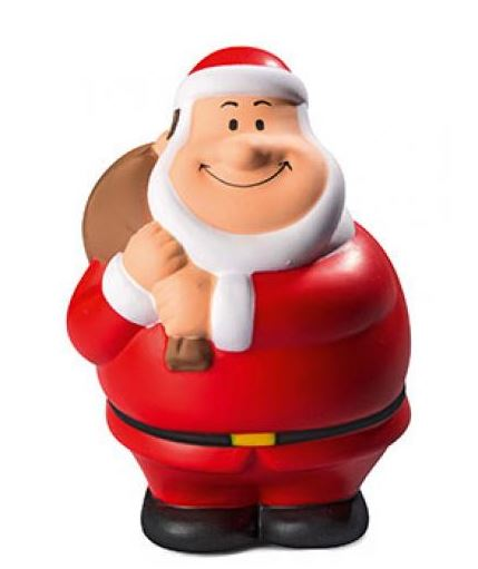 Weihnachtlicher Anti-Stress-Squeezie Santa Bert