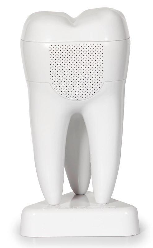 Bluetooth-Lautsprecher in Zahnform