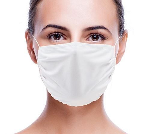 Gesichtschutzmasken aus Mikrofaser