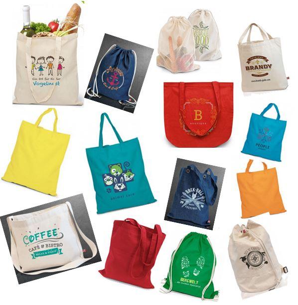 Öko-Tex-zertifizierte Einkaufstaschen