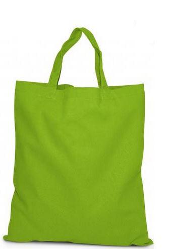 Öko-Baumwolltasche hellgrün