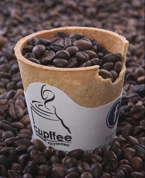Knuspriger Keks-Kaffeebecher