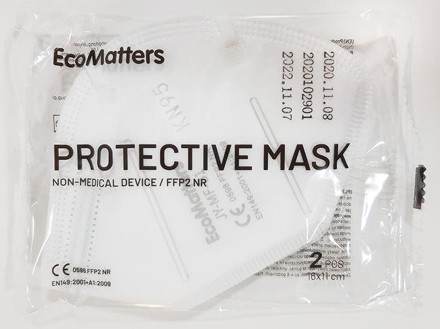 Schutzmasken Verpackung