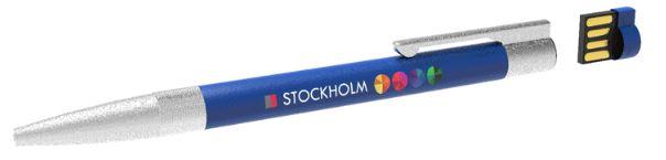 Kugelschreiber mit abnehmbarem USB-Stick