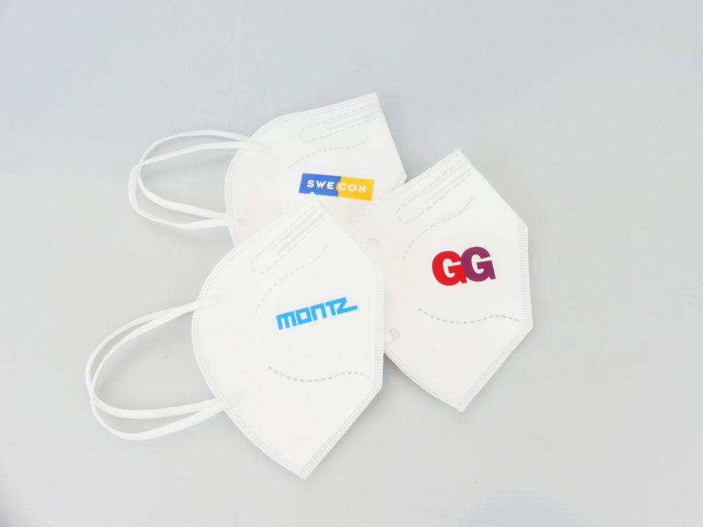 Transferdruck auf FFP2-Masken