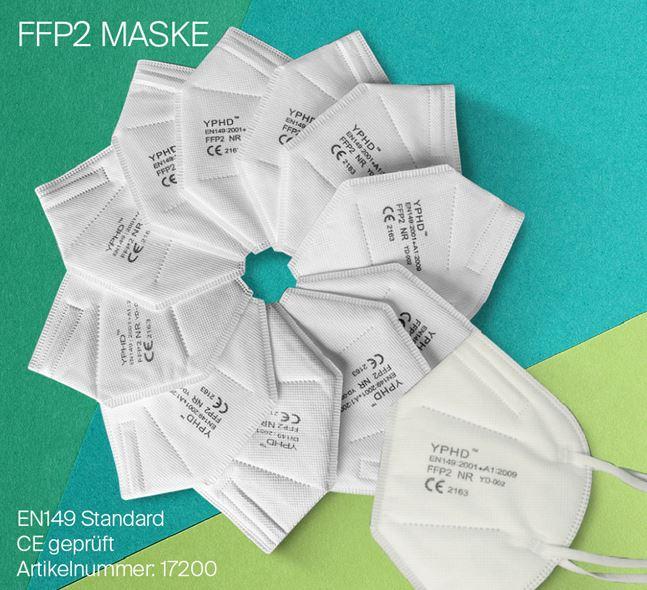 Günstige FFP2-Masken mit Zertifikat