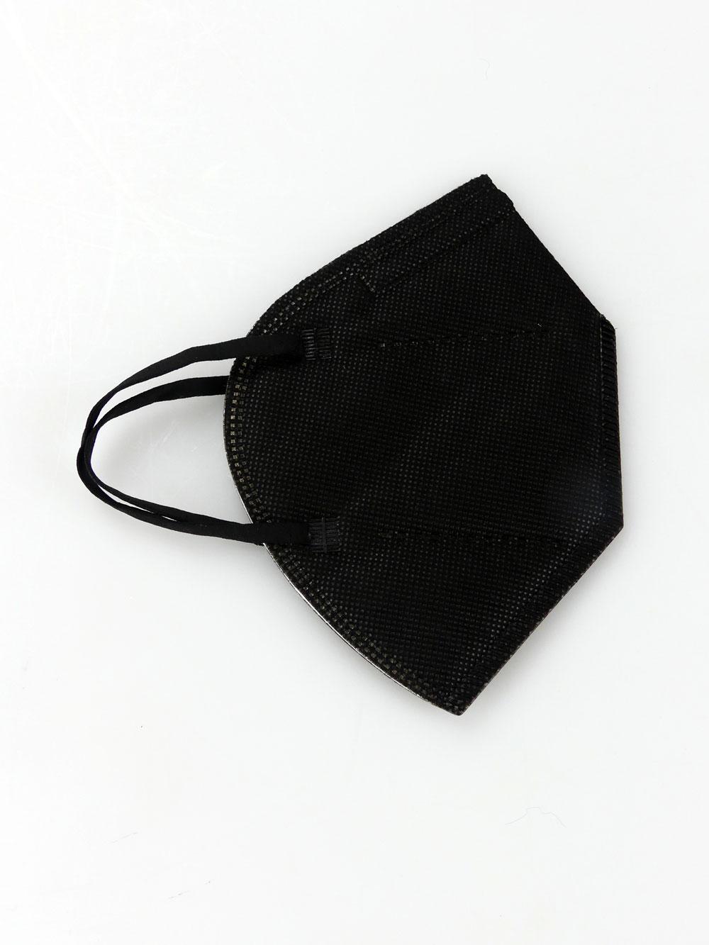 Schwarze FFP2-Masken 4-farbig bedrucken